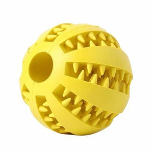 Funny Interactive Elastic Ball For Pet - Dog Toys - yellow / S - funny-interactive-elastic-ball-for-pet