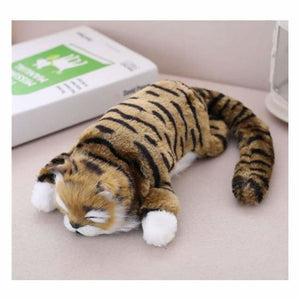 Funny Rolling Cat Toy - Stuffed & Plush Animals - Brown - funny-rolling-cat-toy