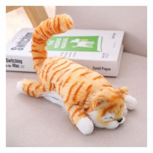 Funny Rolling Cat Toy - Stuffed & Plush Animals - Ginger - funny-rolling-cat-toy