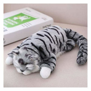 Funny Rolling Cat Toy - Stuffed & Plush Animals - Gray - funny-rolling-cat-toy