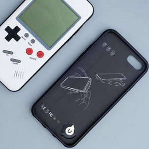 Gameboy iPhone Case - Half-wrapped Case