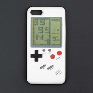 Gameboy iPhone Case - White / For IP 6 6s - Half-wrapped Case