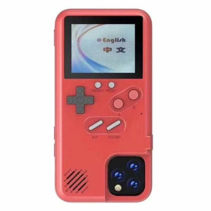 GameBoy iPhone Case - Fitted Cases - IPhone XR / red - gameboy-iphone-case-1
