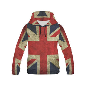 GB Old Glory All Over Print Hoodie for Women - All Over Print Hoodie for Women