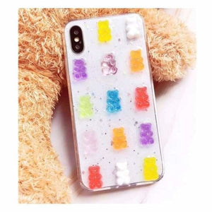 Gummy Bear iPhone Case - for iphone 6 6s - Half-wrapped Case
