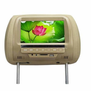 Headrest Multimedia Player - Car Monitors - Beige - headrest-dvd-player