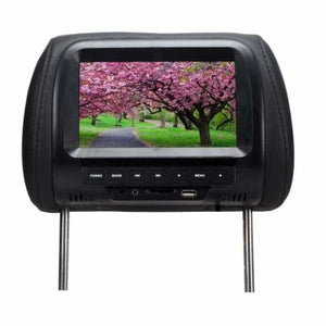 Headrest Multimedia Player - Car Monitors - Black - headrest-dvd-player