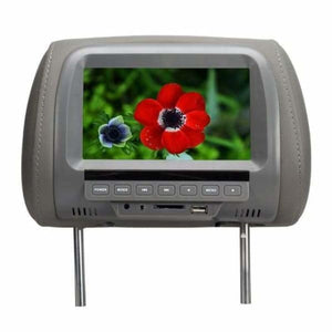 Headrest Multimedia Player - Car Monitors - Gray - headrest-dvd-player