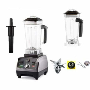 Heavy duty automatic fruit blender - blenders - extra jar and 3parts / eu plug - heavy-duty-automatic-fruit-blender