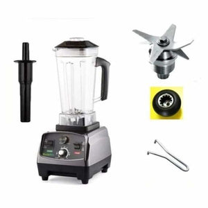 Heavy duty automatic fruit blender - blenders - with extra 3 parts / eu plug - heavy-duty-automatic-fruit-blender
