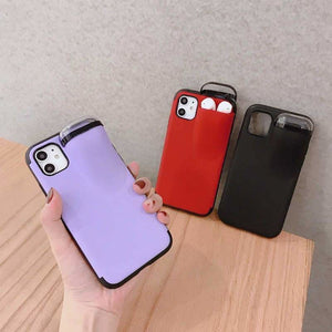 IPhone AirPods Holder Case - Half-wrapped Cases - mobile-cover-for-airpods