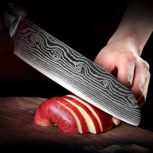 Japanese Chef Knife Set - Stainless Steel Blades - Knife Sets