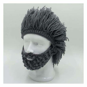 Knitted Face Beanie - Skullies & Beanies - knitted-face-beanie