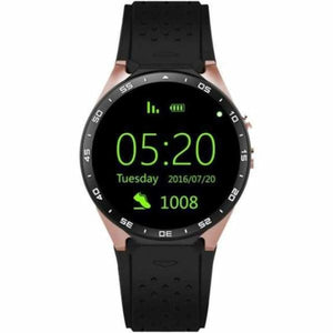 KW88 Smartwatch Pro With 2Mp Camera - Gold/Black - Smart Watches