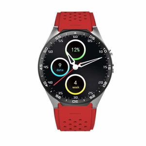 KW88 Smartwatch Pro With 2Mp Camera - Red - Smart Watches