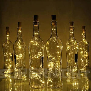 LED Bottle Lights - Holiday Lighting