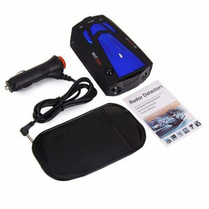 LED Car Radar Detector Speed with Voice Alert - Radar Detectors