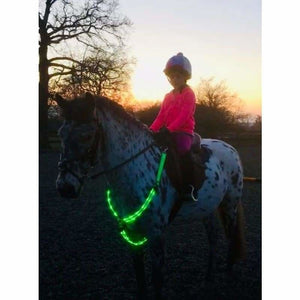LED Horse Breastplate Collar - Halters - led-horse-breastplate-collar