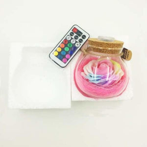 LED Rose Lamp in a Bottle - LED Bulbs & Tubes