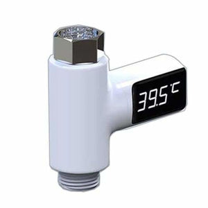 LED Shower Thermometer - White - Water Thermometers