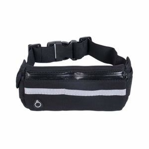 Lightweight Running Belt - Waist Packs - Black - lightweight-running-belt