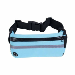 Lightweight Running Belt - Waist Packs - Blue - lightweight-running-belt