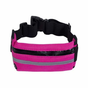Lightweight Running Belt - Waist Packs - Hot Pink - lightweight-running-belt