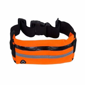 Lightweight Running Belt - Waist Packs - Orange - lightweight-running-belt