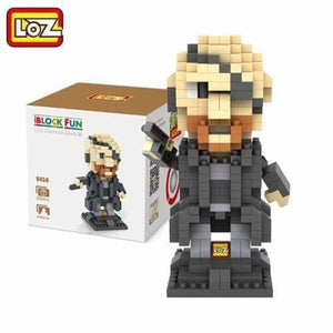 LOZ Super Hero The Hero Captain America Green Titans Iron Man Thor Loki Diamond Building Blocks Action Figure DIY Model - LOZ 9450 with box