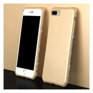 Luxury Diamond iPhone Case - Gold / For Iphone 6 6s - Fitted Cases