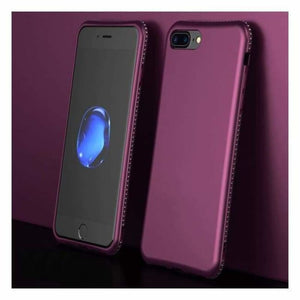 Luxury Diamond iPhone Case - Purple / For Iphone 6 6s - Fitted Cases