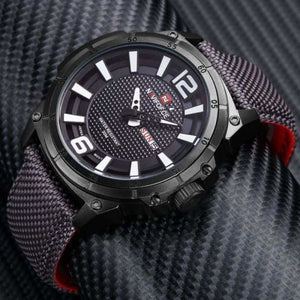 Luxury Mens Nylon Strap Sports Wristwatch