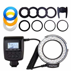 Macro LED Ring Flash Light - Flashes