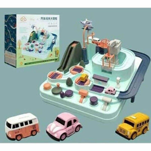 Manipulative Rescue Squad Adventure - Diecasts & Toy Vehicles - Adventure Set + 3pcs Cars - manipulative-rescue-squad-adventure