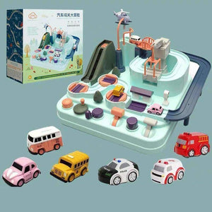 Manipulative Rescue Squad Adventure - Diecasts & Toy Vehicles - Adventure Set + 6pcs Cars - manipulative-rescue-squad-adventure