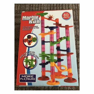 Marble Race Run Playset - 80pcs - Marble Runs