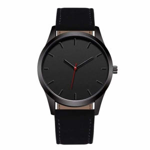 Men Leather Sports Watch - Quartz Watches