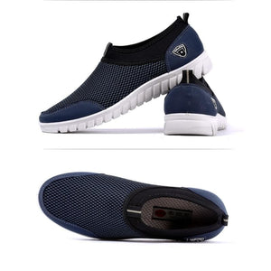 Mens Casual Shoes Sneakers - Blue / 6