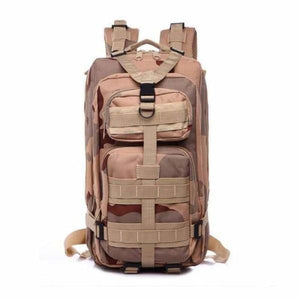 Military - Hiking Backpack - Desert camouflage / 35L