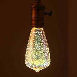 [MingBen] Led Light Bulb E27 Led Lamp 3D Decoration Bulb 4W 220-240V Holiday Lights ST64 G95 Novelty Lamp Christmas Decoration - ST64 - LED