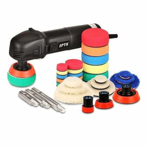 Mini car polishing machine - automotive polishing machine - polisher kit / 110v-130v - mini-car-polishing-machine