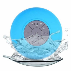 Mini Portable Bluetooth Shower speaker - Blue - Combination Speakers