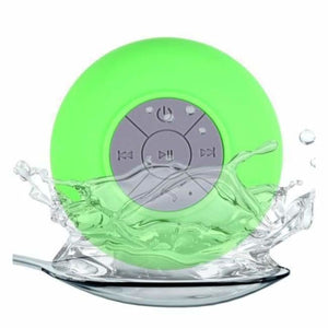 Mini Portable Bluetooth Shower speaker - Green - Combination Speakers