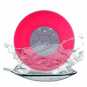 Mini Portable Bluetooth Shower speaker - Pink - Combination Speakers