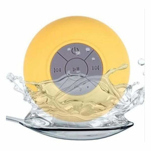 Mini Portable Bluetooth Shower speaker - Yellow - Combination Speakers
