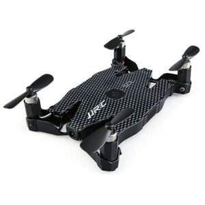 Mini Selfie Drone - Black - RC Helicopters
