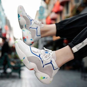Momentum Crazy Street Style Sneakers - Mens Casual Shoes - sneakers-high-top-breathable-shoes