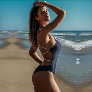 One Piece Rope Style Swimsuit Collection