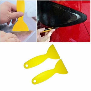 PDR Yellow Rubber Scraper For Heat Glue - Fillers Adhesives & Sealants