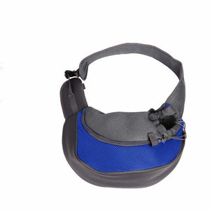 Pet Carrier Shoulder Bag - Dog Carriers - blue / S - pet-carrier-shoulder-bag